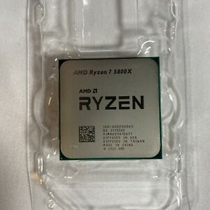 AMD Ryzen 7 5800X Desktop Processor (4.7GHz, 8 Cores, Socket AM4) Used