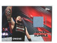 WWE Kevin Owens 2017 Topps TNF Event Used RR Mat Relic Card SN 147 of 299
