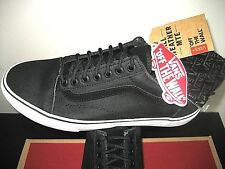 Vans Mens Old Skool MTE Tec Tuff Black All Weather Canvas Skate Shoes Size 7 NWT