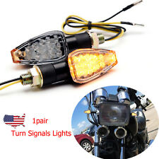 1 Pair Motorcycle Turn Signals Lights Save Energy LED Direction Lamp Honda US