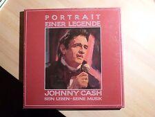 """12"""" DLP Box - Johnny Cash - Portrait einer Legende (32 Song) CBS 28214 - 1982"""