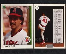 1988 Upper Deck #1 DeWAYNE BUICE Type A Promo Card * Hologram at Bottom * ANGELS