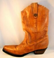Earth Spirit Boots Womens 7.5 Brown Leather Iris Cowboy Leather