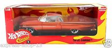 Hot Wheels Classics 1959 Chevrolet El Camino Orange 1:18 Brand New Still Sealed