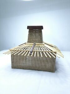 Wooden & Sticks With Sack Handmade Lampshade For Dinning Rooms & Home Décor  NEW