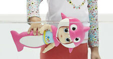 Baby Alive Baby Shark Blonde Hair Doll Bath Toy with Tail and Hood New