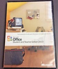 Microsoft Office Student And Teacher Edition 2003 w/ CD-Key