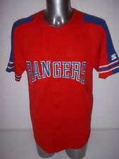 Texas Rangers Starter Adult Medium Vintage Jersey Shirt Baseball Official MLB