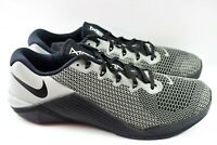 Nike Metcon 5 X (Mens Size 8.5) Cross Training Shoes CD4951 001 Silver wmn sz 10