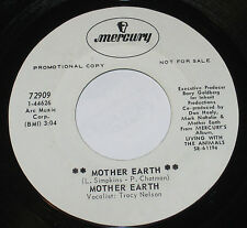 "Mother Earth 7"" 45 PROMO HEAR BLUES Mother Earth MERCURY 72909 I Did My Part"