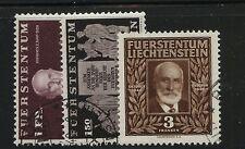 Liechtenstein   163-165  used  catalog  $151.00                  MZ1223