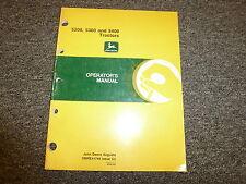 John Deere 5200 5300 & 5400 Utility Tractor Owner Operator Manual OMRE41745