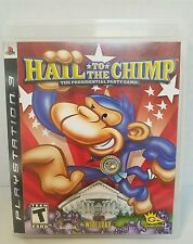Hail to the Chimp (Sony Playstation 3 PS3, 2008) pre-owned (VG16)