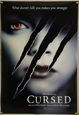CURSED DS ROLLED ADV ORIG 1SH MOVIE POSTER WES CRAVEN CHRISTINA RICCI (2005)