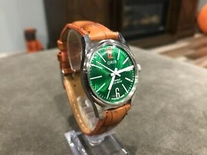 Vintage Oris Wristwatch, green dial