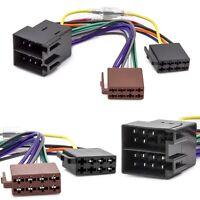 Auto Radio Adapter Kabel ISO Stecker Buchse Remote für Opel Astra F G Corsa B C