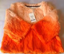 NEW KLING UNUSUAL COAT RABBIT FUR JACKET STYLE W113-003  SIZE M