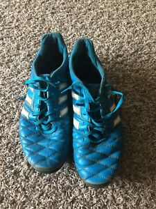 Adidas Adipure 11pro Soft Ground Blue And White Soccer Cleats Men's Size 10.5
