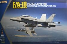 1/48 MDC/Boeing F/A-18 A+ / B / CF-188 Hornet Model Kit by Kinetic
