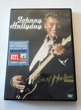 JOHNNY HALLYDAY  LIVE AT MONTREUX 1988