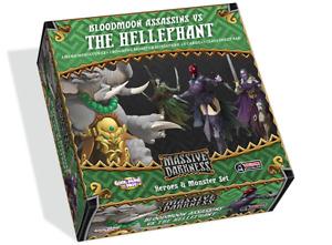 Massive Darkness: Bloodmoon Assassins vs Hellephant NEW & SEALED