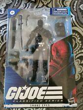 G.I. Joe Classified Series 6-Inch Snake Eyes Action Figure NEW - Hasbro