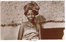 RPPC,Africa,Hausa Woman,Ethnic,c.1909