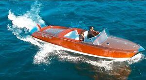 Riva Replik Mahagoni - Motorboot / Motoryacht Mecury V8 109.000,-€ bis 01.08.21