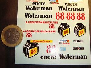 """DECALS 1/43 - CITROËN HY TOUR DE FRANCE 1957 """"WATERMAN""""  - T275"""