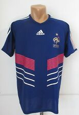 France 2009/2010/2011 Home Football Shirt Soccer Jersey Maillot Fff Top Adidas M