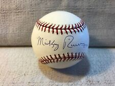 Mickey Rivers New York Yankees Signed Autographed Official MLB Baseball Steiner