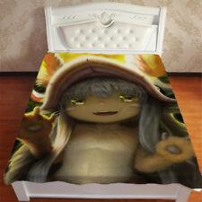 Neu Anime Nanachi Made in Abyss Kuscheldecke Wohndecke Sofadecke Decke blanket