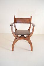 """Dantesca chair for Dolls 1/4 16"""" TONNER BJD Italian Renaissance wooden NEW"""