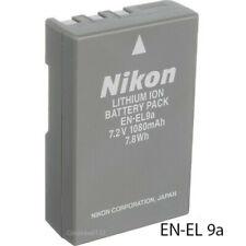 Nikon EN-EL9A Recharge Battery NikonD60 D40 D40X D5000 D3000 Mh-23 Free Ship USA