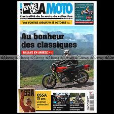 LA VIE DE LA MOTO LVM N°854 75 ANS OSSA 1940-2015 PARILLA 175 LEOPOLDO TARTARINI