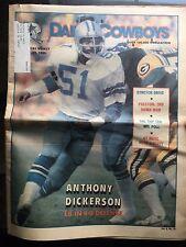 """ NFL Dallas Cowboys Official Weekly Magazine November, 29, 1980; Vol. 6, No. 24"