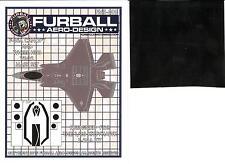 Furball Decals 1/48 LOCKHEED F-35A LIGHTNING Canopy & Wheel Hub Vinyl Mask Set