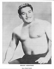 Rocky Montero Original Vintage 8x10 Photo WWE NWA 1960-70s Pro Wrestling Picture