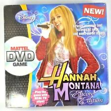 Disney Hannah Montana Encore Edition, Mattel DVD Game New Board Game 2008