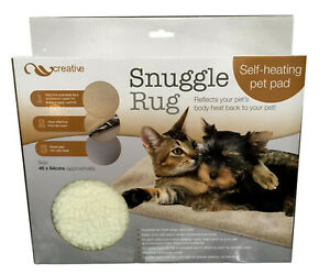 Snuggle Rug Self-Heating Pet Pad Cat Bed for Cats & Small Dogs Reflective Insert