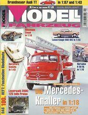 Modell Fahrzeug 2006 4/06 Magazin Golf 1 GTI Mercedes 560 SEC Hercules K 50 RL