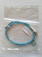 LC-ST Fiber Patch Cables OM3 10 Gigabit 2mm Corning MM Duplex 50/125 - 2 Meters