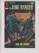 Lone Ranger #27 VF- december 1976 - bronze age gold key comics - western