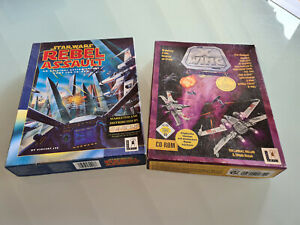Star Wars X-Wing und Rebel Assault PC Big Box 1993