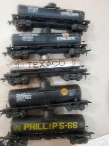 (5) 40' Steel Tanks - Gas (HO)(Used)