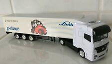 MERCEDES lorry Linde dealer Pelzer forklift fork lift truck