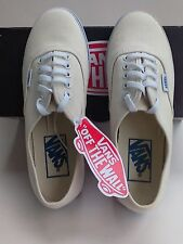 Vans shoes**new**authentic low pro, white, unisex. Women's 5.5, boys 4