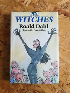 1983 1st edition 2nd pressing The Witches ~ Roald Dahl  - Hardback  Dust Jacket