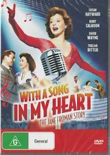 WITH A SONG IN MY HEART - JANE FROMAN STORY - SUSAN HAYWARD - NEW & SEALED DVD