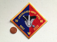 AMANGAMEK WIPIT OA LODGE 470 SCOUT SERVICE PATCH 1952 2002 PERFECT MINT STITCH